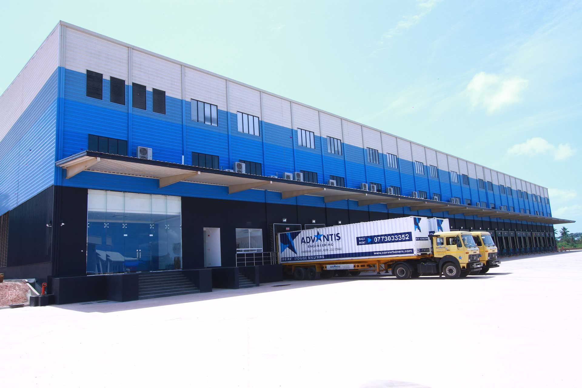 Free Zone Cargo Hub Facility In Sri Lanka Advantis