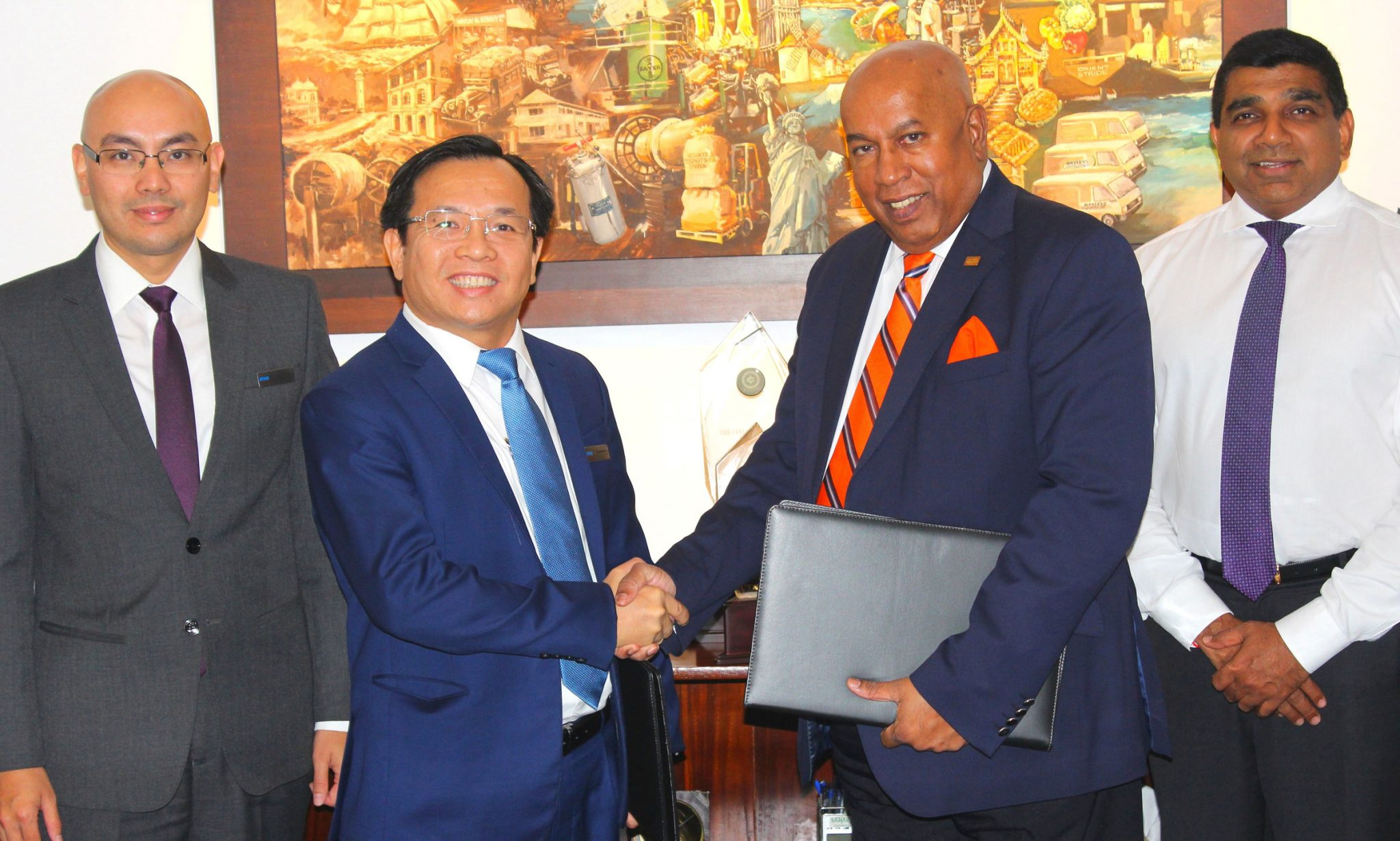 Advantis-Engineering-Signs-MOU-with-ATAD-steel-structure-corporation